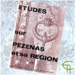 Revue Etudes sur Pézenas et sa région 1970-1