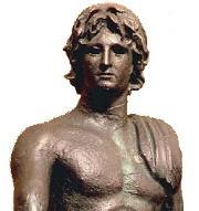 Éphèbe d'Agde statue antique en bronze découverte en 1964
