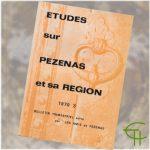 Revue Etudes sur Pézenas et sa région 1970-3