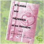 Revue Etudes sur Pézenas et sa région 1970-4