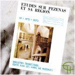 Revue Etudes sur Pézenas et sa région 1973-2
