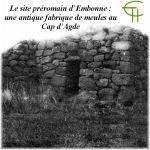 Le site préromain d'Embonne Une antique fabrique de meules au Cap d'Agde
