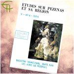 Revue Etudes sur Pézenas et sa région 1974-4