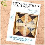 Revue Etudes sur Pézenas et sa région 1975-4 – Millénaire de Saint-Fulcran, Études sur le diocèse de Lodève II