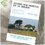 Revue Etudes sur Pézenas et sa région 1976-4