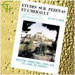 Revue Etudes sur Pézenas et l'Hérault 1978-1