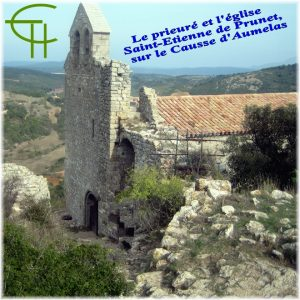 Le Prieuré et l'église Saint-Étienne de Prunet sur le Causse d'Aumelas