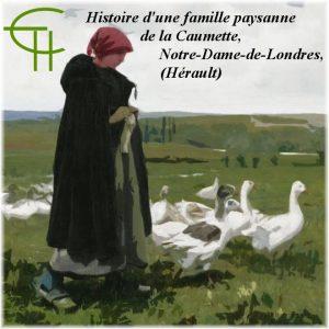 Histoire d'une famille paysanne à travers ses documents privés