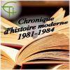 Chronique d'Histoire Moderne Dictionnaires et répertoires (1981-1984)