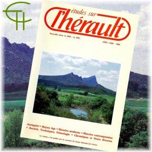 Revue Etudes sur l'Hérault 1986-1987 n°2-3