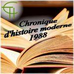 Histoire moderne 1988