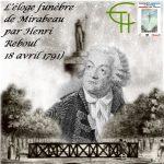 L'éloge funèbre de Mirabeau par Henri Reboul (18 avril 1791)