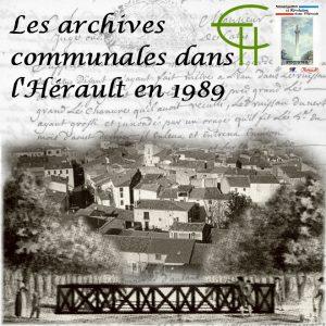Les Archives communales dans l'Hérault en 1989
