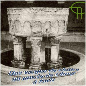 1992-b16-une-vasque-de-cloitre-provenant-probablement-de-grandmont-au-musee-de-cluny-a-paris