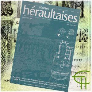 Revue Etudes Héraultaises 1995-1996 n° 26-27