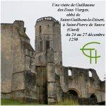 Une visite de Guillaume des Deux Vierges, abbé de Saint-Guilhem-le-Désert