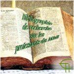 Bibliographie de recherche sur les protestants du Midi