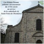 Les Mélair-Parant, artisans carcassonnais du XVIIe siècle au service de la cathédrale de Saint-Pons-de-Thomières