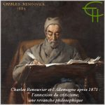 Charles Renouvier et l'Allemagne après 1871 : l'annexion du criticisme, une revanche philosophique