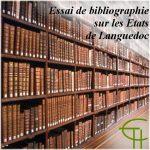 Essai de bibliographie sur les États du Languedoc
