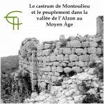 Le <i>castrum</i> de Montoulieu et le peuplement dans la vallée de l'Alzon au Moyen Âge