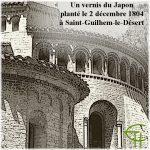 Un vernis du Japon planté le 2 décembre 1804 à Saint-Guilhem-le-Désert (Hérault)