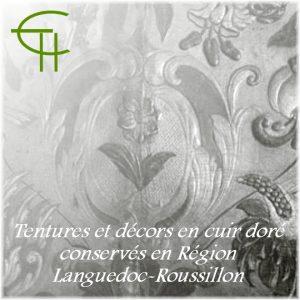 2006-07-tentures-et-decors-en-cuir-dore-conserves-en-region-languedoc-roussillon