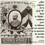 Aux origines de la C.G.V. dans le Midi: combats pour la défense du vin