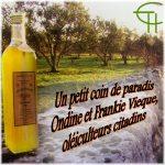 Un petit coin de paradis : Ondine et Frankie Vieque, oléiculteurs citadins