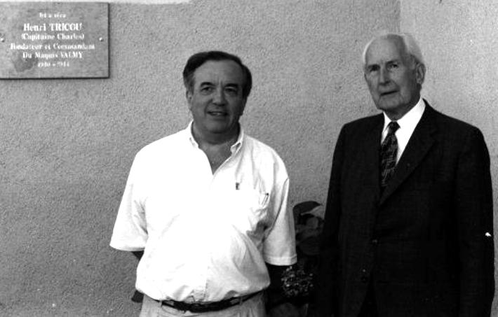 Gilbert de Chambrun et J.-Cl. Richard à Saint-Jean-de-Buèges