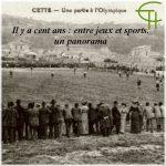 Il y a cent ans – entre jeux et sports, un panorama