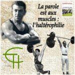 La parole est aux muscles : l'haltérophilie