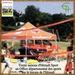 Trente saisons d'Hérault Sport: <br/>un Office départemental des sports sur le terrain de l'Hérault