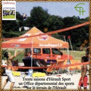 Trente saisons d'Hérault Sport : un office départemental des sports sur le terrain de l'Hérault