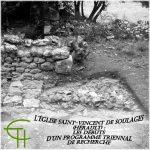 L'église Saint-Vincent de Soulages (Hérault) – les débuts d'un programme triennal de recherche