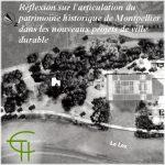 Réflexion sur l'articulation du patrimoine historique de Montpellier