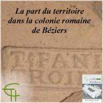 La part du territoire dans la colonie romaine de Béziers