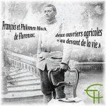 François et Philomen Mioch, de Florensac, deux ouvriers agricoles au devant de la vie