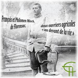 François et Philomen Mioch, de Florensac, deux ouvriers agricoles « au-devant de la vie »