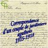 Correspondance d'un couple de jardiniers agathois 1915-1918