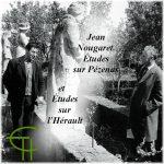 Jean Nougaret, Études sur Pézenas et Études sur l'Hérault
