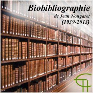 Bibliographie de Jean Nougaret (1939-2013)