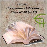 Notes 2017 n° 48 Dossier Occupation – Libération