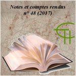 Notes et comptes-rendus 2017 n° 48