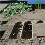 Montpellier, hôtel Richer de Belleval une maison médiévale et ses modifications