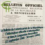 Le Bulletin du Commissariat de la République : L'Information officielle à Montpellier