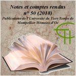 Publications de l'Université du Tiers Temps de Montpellier: Mémoire d'Oc