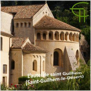 Richard Bavoillot Laussade L'autel de saint Guilhem
