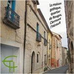 La maison gothique du quartier de Rougas à Clermont-l'Hérault