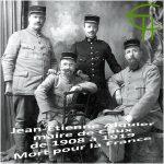 Jean-Étienne Alquier, maire de Caux de 1908 à 1919, Mort pour la France